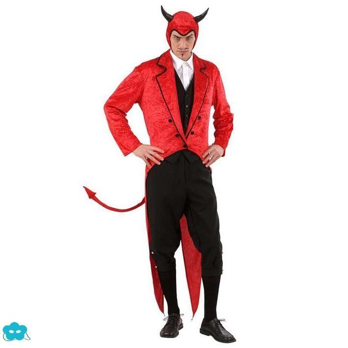 Disfraz Diablo Elegante Para Hombre Disfraz Halloween Hombre Disfraz De Diablito Disfraces Hombre