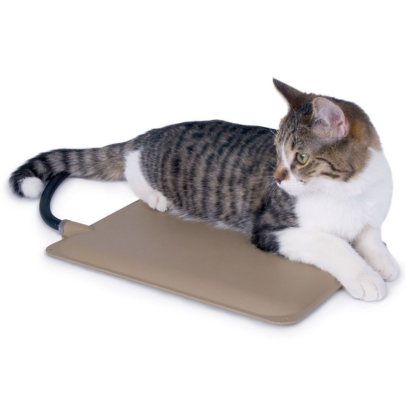 K H Manufacturing Extreme Weather Heated Petite Kitty Pad 9 X 12 25 Watts Cat Pet Supplies Cat Bed Pets