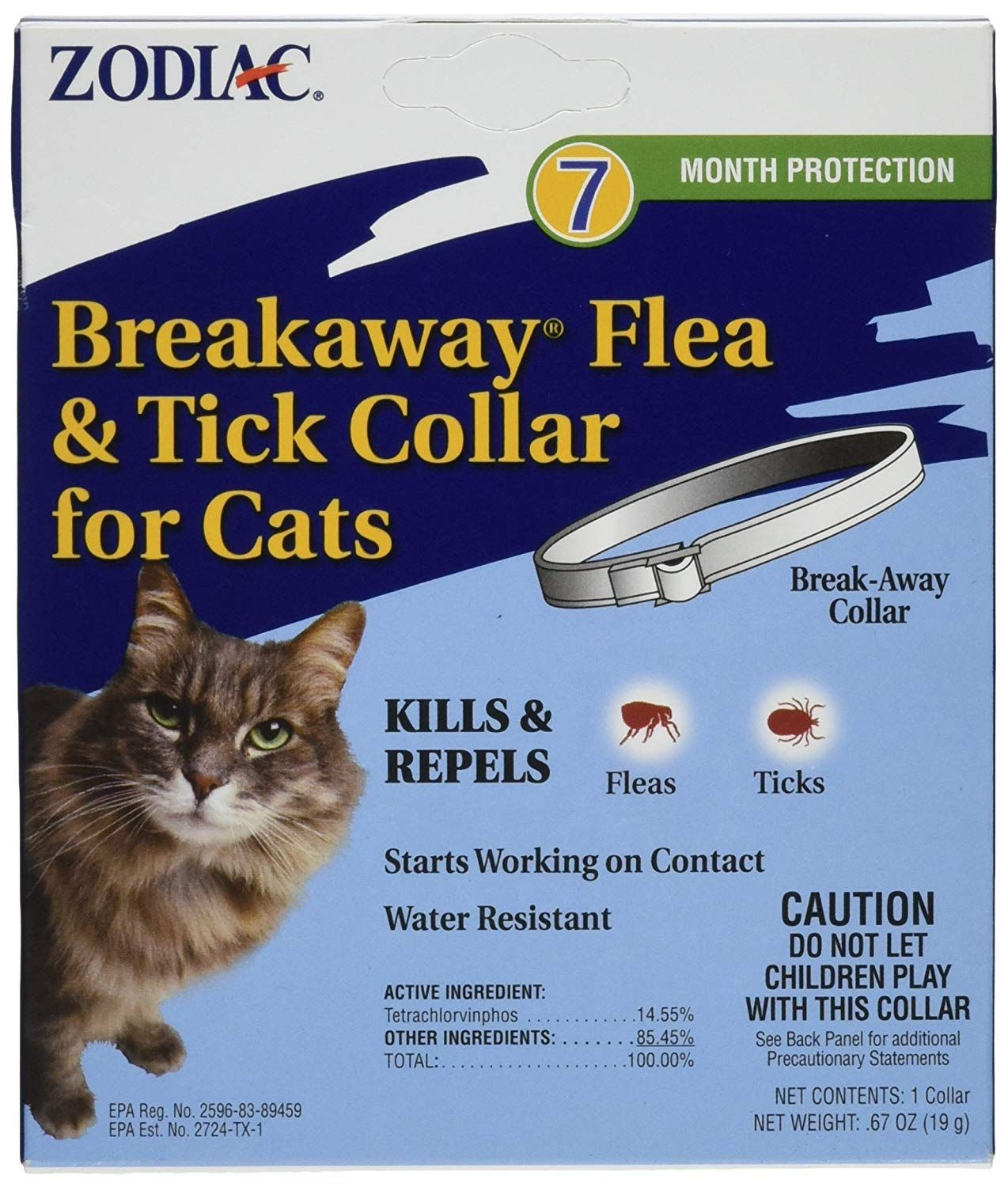Zodiac Breakaway Flea And Tick Collar For Cats 13 Nice Of You To Drop By To View The Photo This Is An Affiliate Link Cat Flea And Tick Cat Fleas Fleas
