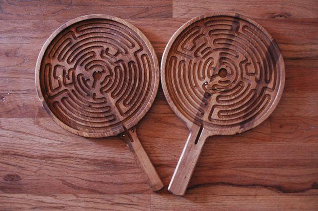Cnc Paddle Maze Wooden Game Plans Cnc Cnc Wood Cnc