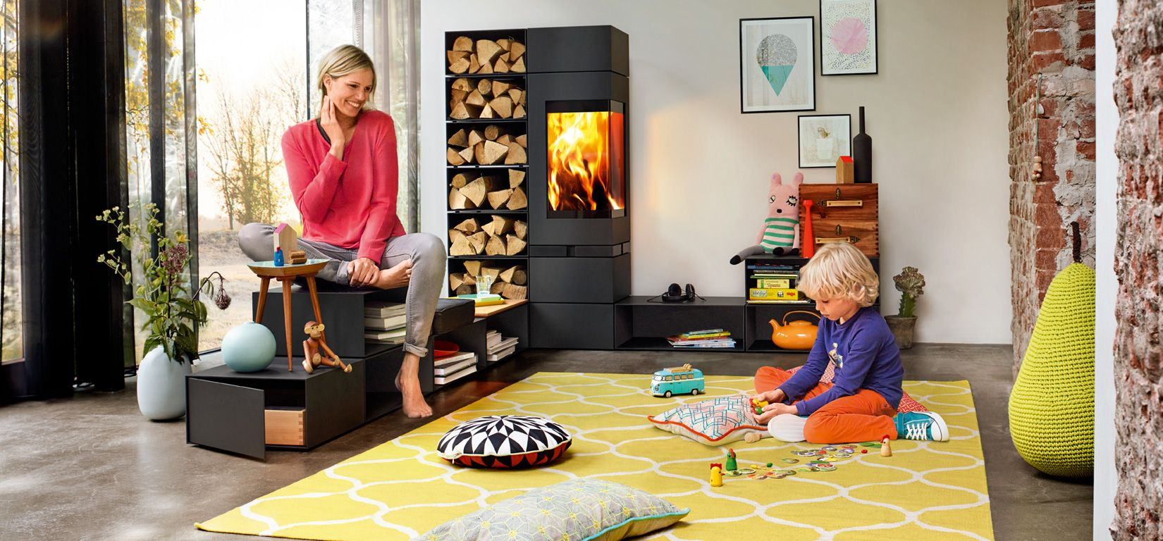 kaminofen von skantherm wir sind feuer und flamme scandinavian living pinterest feuer. Black Bedroom Furniture Sets. Home Design Ideas