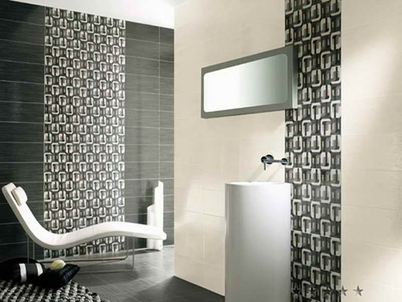 bathroom tile design patterns with grey colour httplanewstalkcom - Bathroom Tiles Designs Gallery