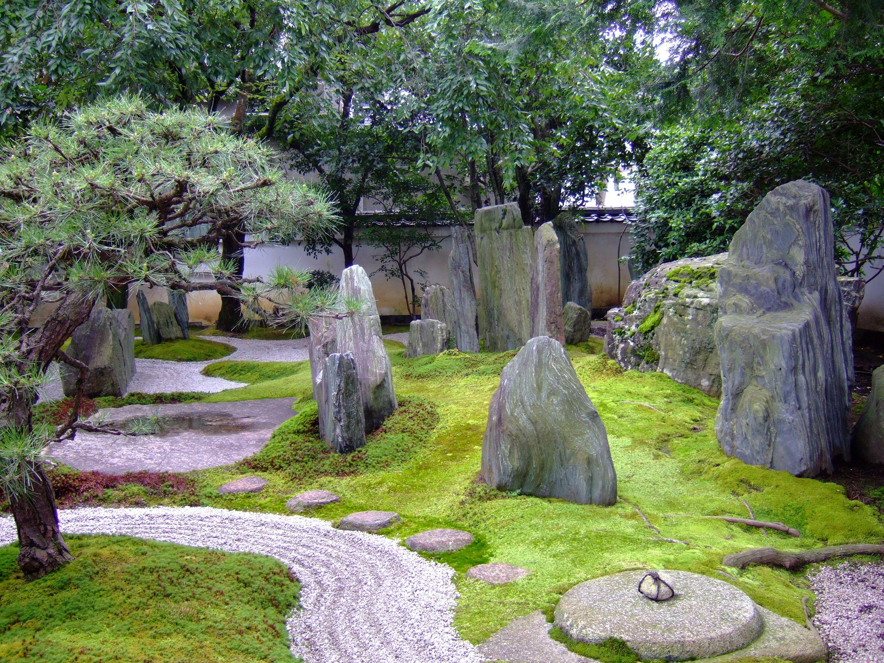 Jard n japon pierres for Jardin japonais 78