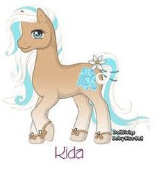 My Little Pony: Kida by Morgwaine