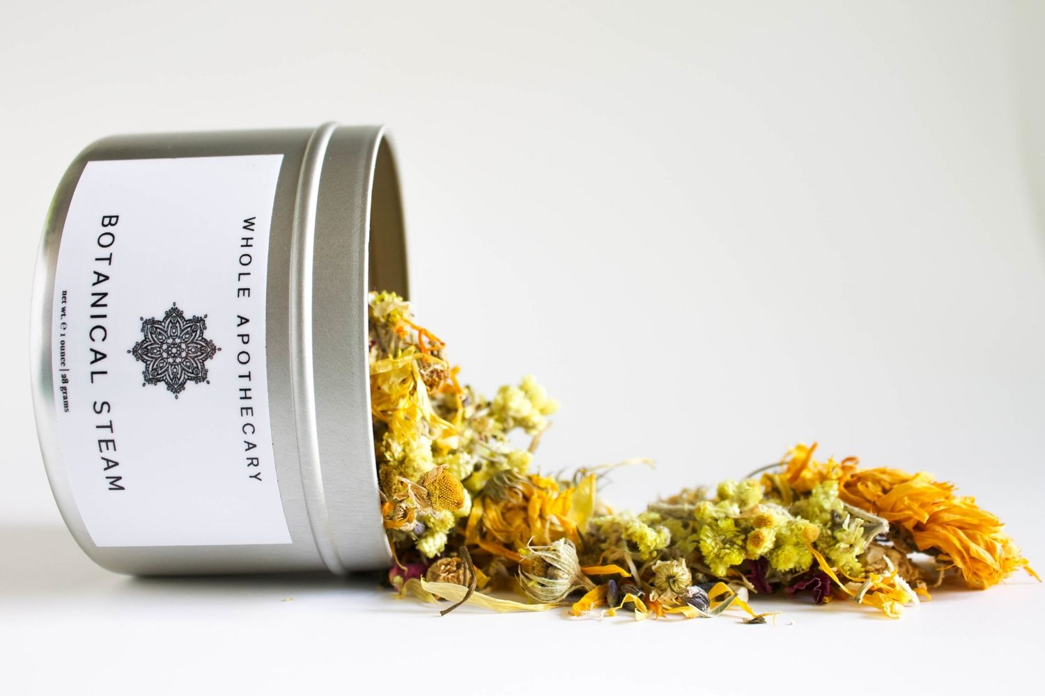 Botanical Steam // botanical face steam made from organic herbs and flowers. relaxing and rejuvenating for mind and body | wholeapothecary.com