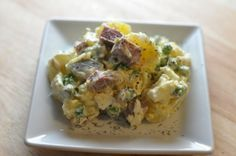 Russian Potato Salad Also known as Olivier Salade #olivierrussischersalat Salade Olivier Popular Restaurant Recipes you can make at Home: Copykat.com #olivierrussischersalat