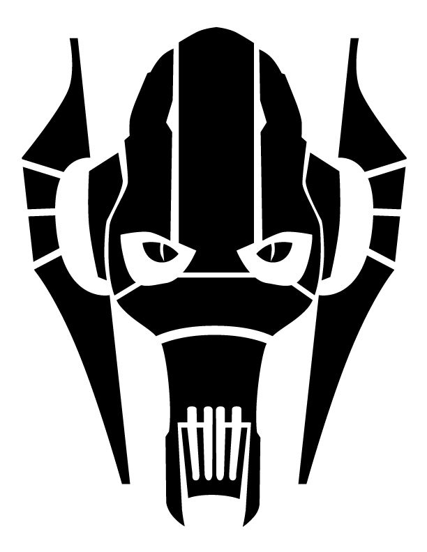photo regarding Star Wars Stencils Printable called Overall Grievous behavior via upon