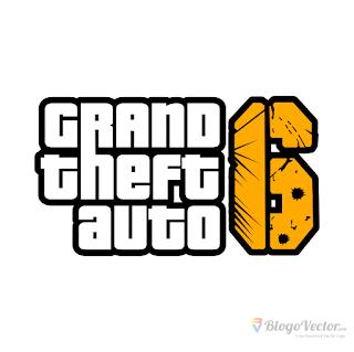 Grand Theft Auto 6 Gta Logo Vector Cdr Vector Logo Grand Theft Auto Custom Logos
