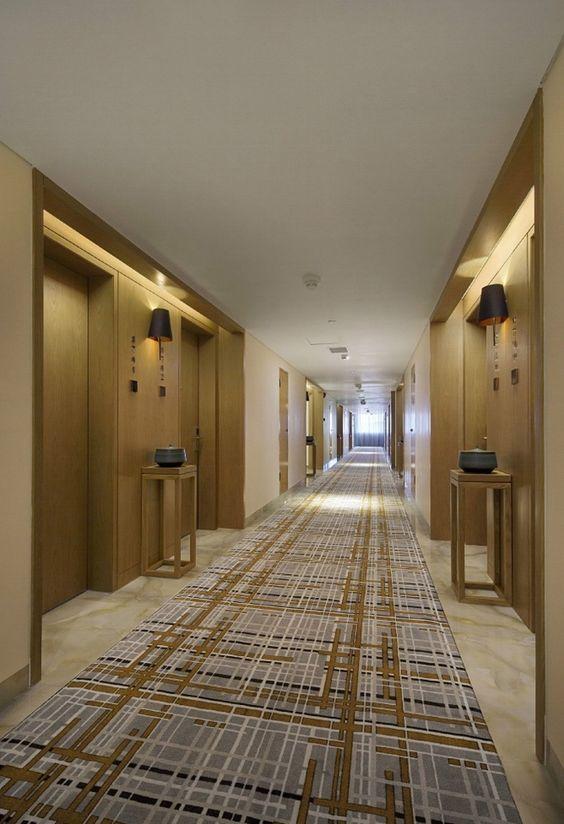 Hotel interior inspiration lift lobby corridor for Hotel corridor decor