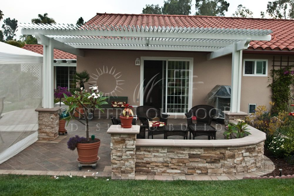 Alumawood Lattice Type Patio Covers Gallery Western Outdoor Design And  Build Serving San Diego, Orange