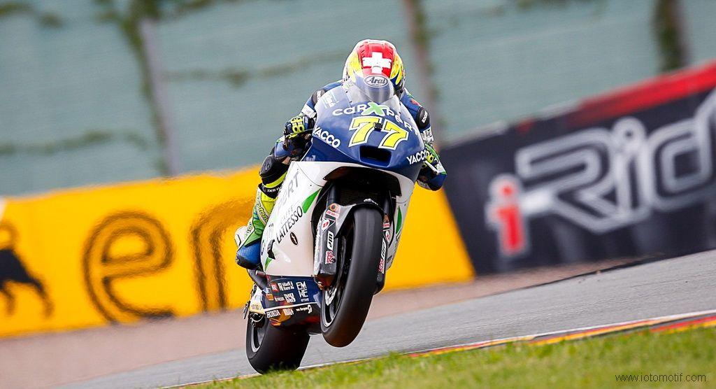 Kualifikasi Moto2 2014 Jerman Dominique Aegerter Tercepat Motogp Pembalap Juara