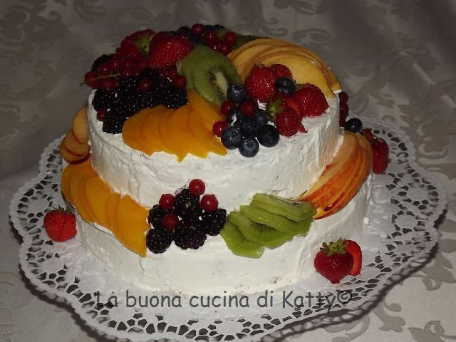 La buona cucina di katty trionfo di frutta my torte - La cucina di sara torte ...
