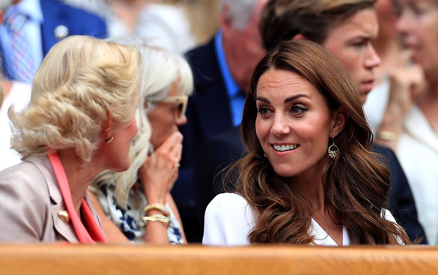 Kate Middleton Is All Laughs As She Attends Wimbledon With Pals