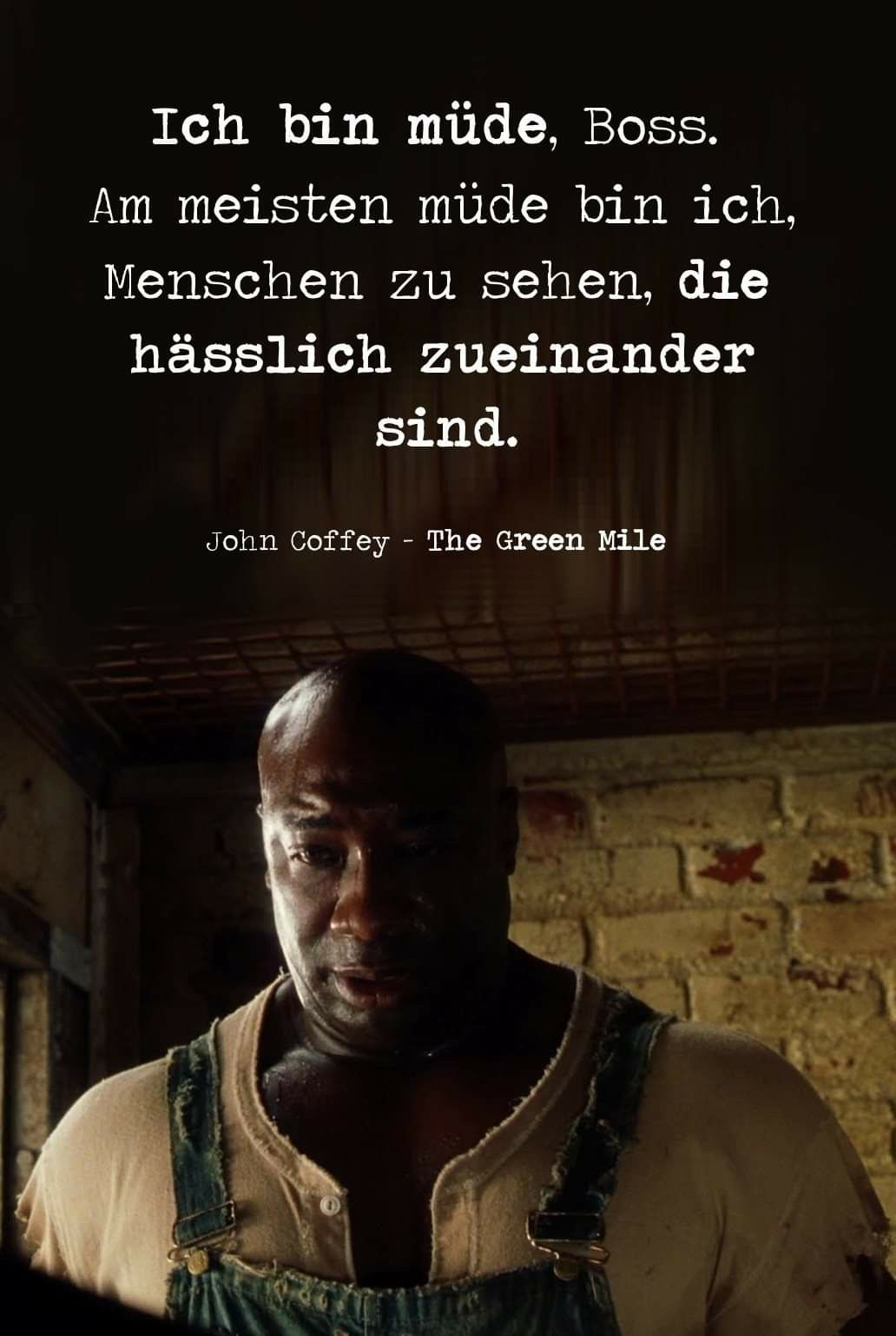The Green Mile - John Coffey