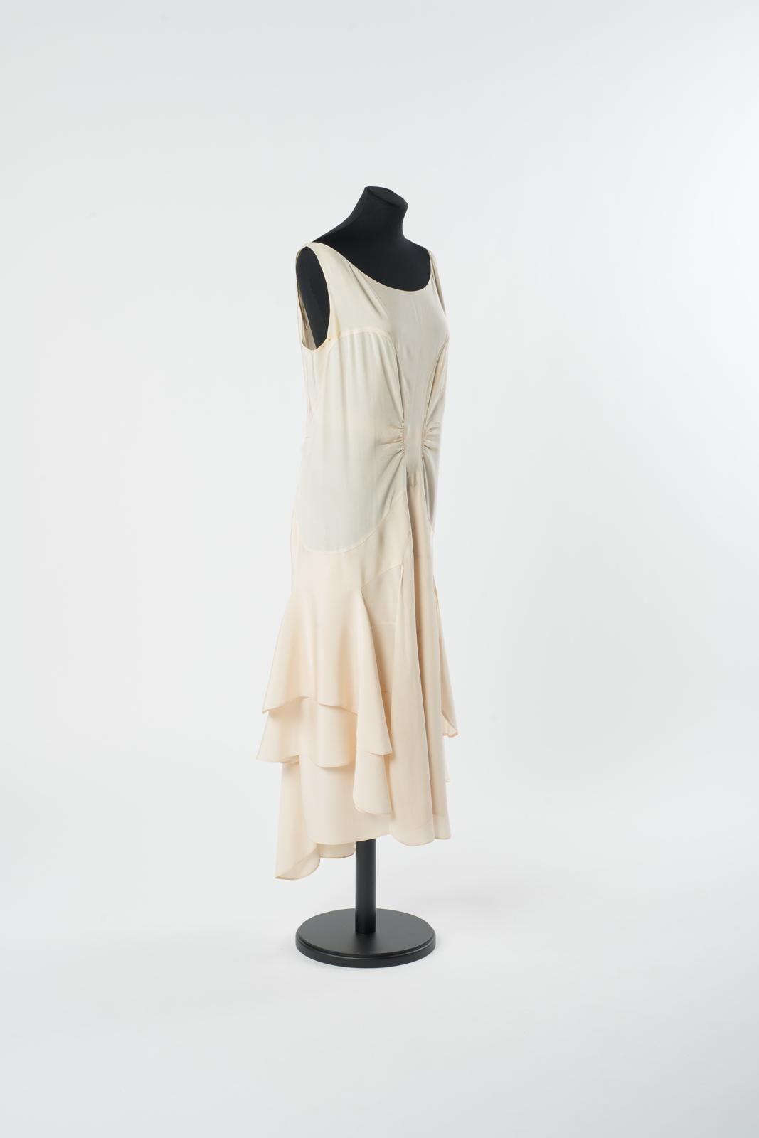 abendkleid um 1930 viskose (krepp) | abendkleid, kleider