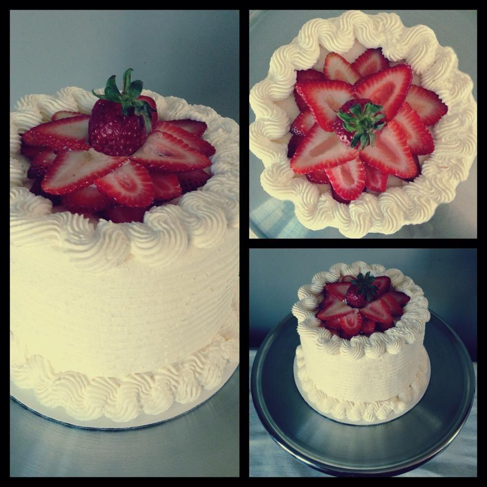 Made a customer a Strawberry Shortcake Birthday Cake.