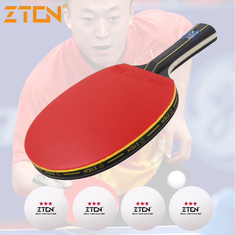 buy zton table tennis racket double pimples in rubber ping pong racket fast  attack and loops or chop  table  ping  pong 3b89cfc14f8c4