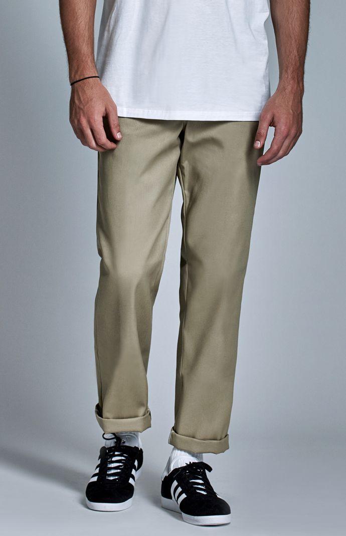 42320fe2662cf0 Dickies Original 874 Khaki Work Pants in 2019   men   Work pants ...