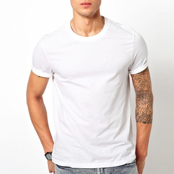 Wholesale Cheap Plain White T Shirt China Photo, Detailed about ...