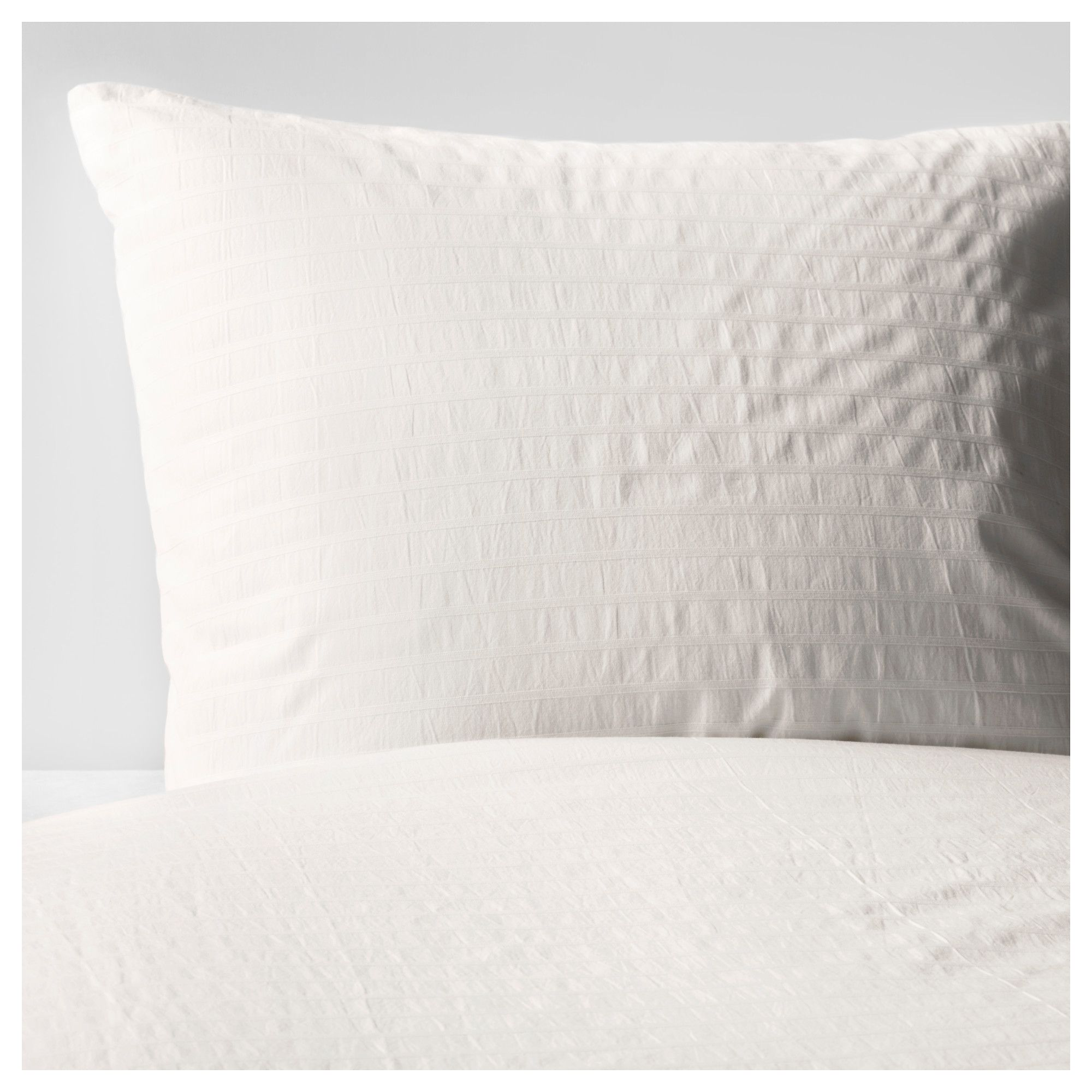 Ofelia Vass Duvet Cover And Pillowcases White Guest Room Office