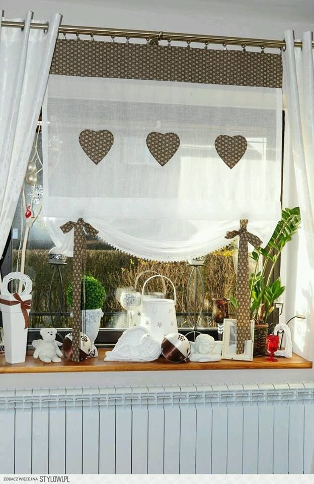Curtains / Ideal For The Kitchen