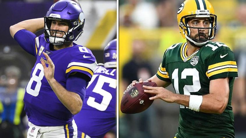 How Kirk Cousins Is Now Outplaying Aaron Rodgers The V61 Kirk Cousins Nfc North Football Talk
