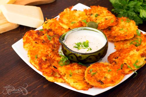 Potato Pancakes #potatopancakesfrommashedpotatoes