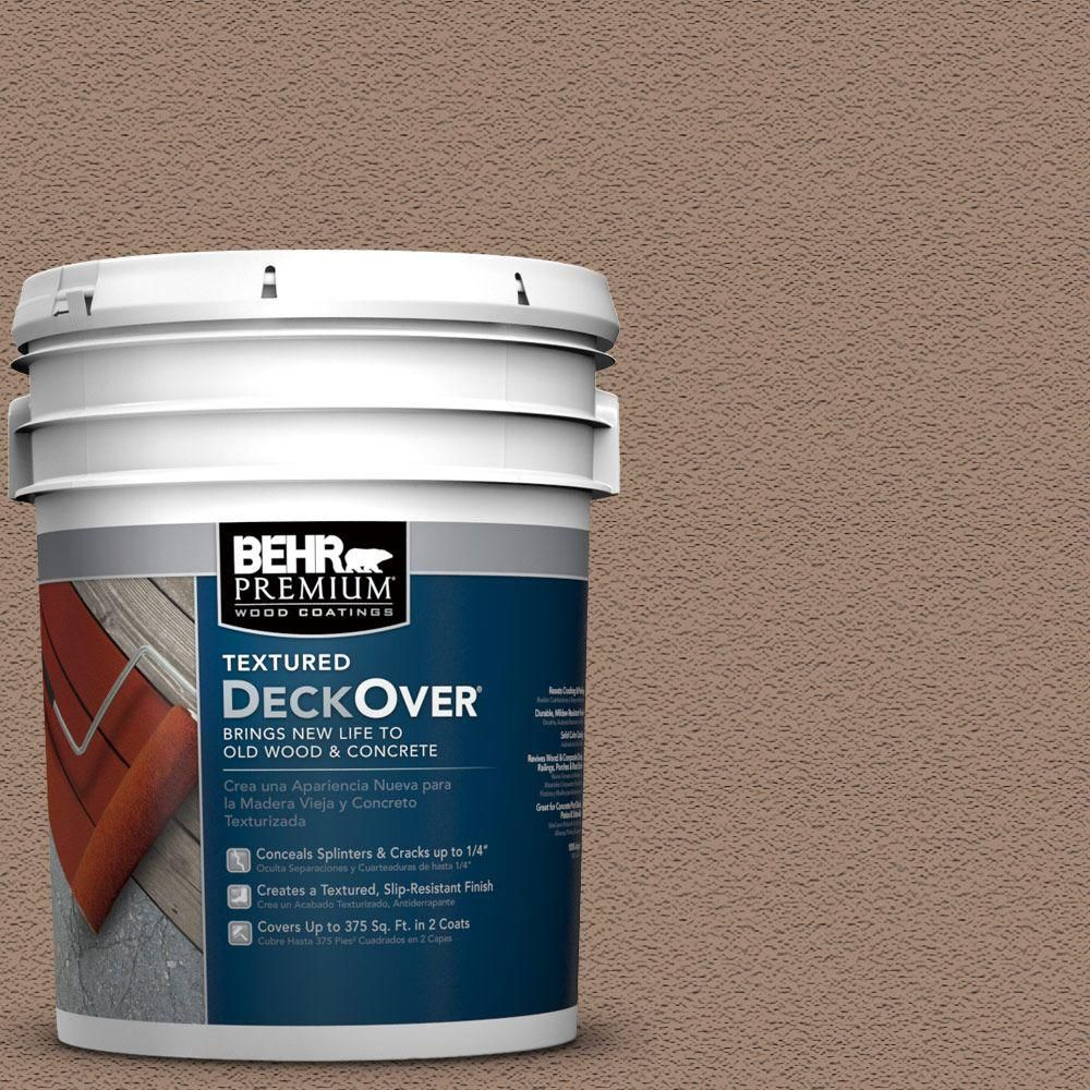Behr Premium Textured Deckover 5 Gal Pfc 19 Pyramid Textured