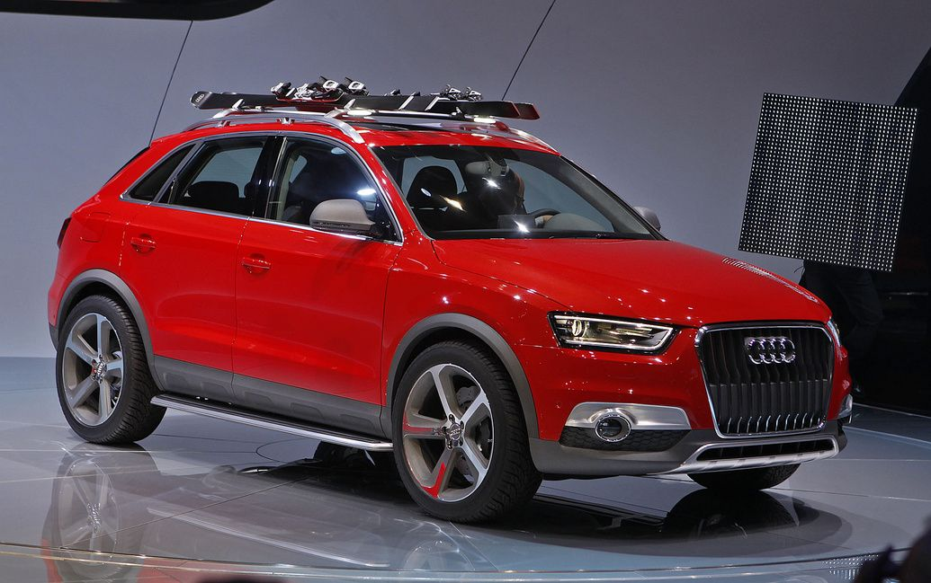 Audi Q3 concept previews future US model with turbo 5-cylinder engine