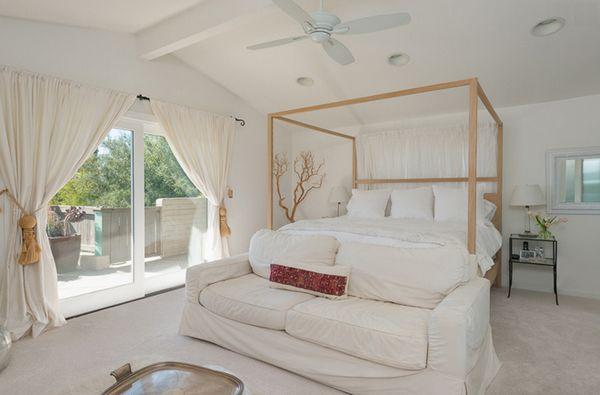 9+ schlafzimmer design 2019 weiße vorhang ideen wunderbar