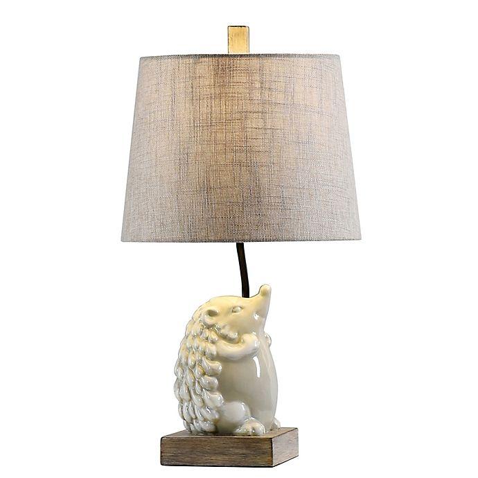 Stylecraft Happy Poly Resin Lighting Table Lamp In White Buybuy Baby Table Lamp Lighting Lamp Table Lamp
