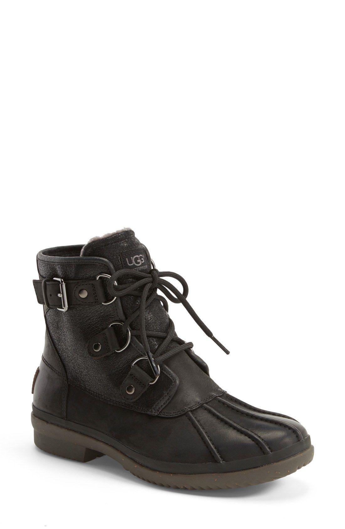 2cb4385bbcb UGG® Australia 'Cecile' Waterproof Boot (Women) 170 dollars tho ...