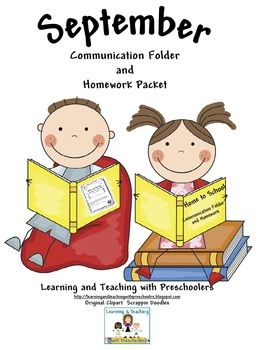 Communication Folders help to ensure that any notes and homework sent home are seen by parents.  They will keep your parents well informed as well ...