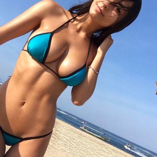Amateur Bikini Bottom Gap Photos