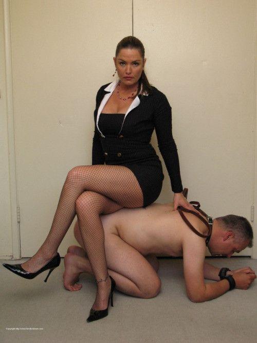 Mistress trample foot