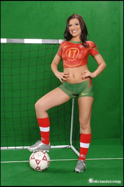 France Body Painting Soccer Finger Paint Cosplay Sport Club Seventeen 1