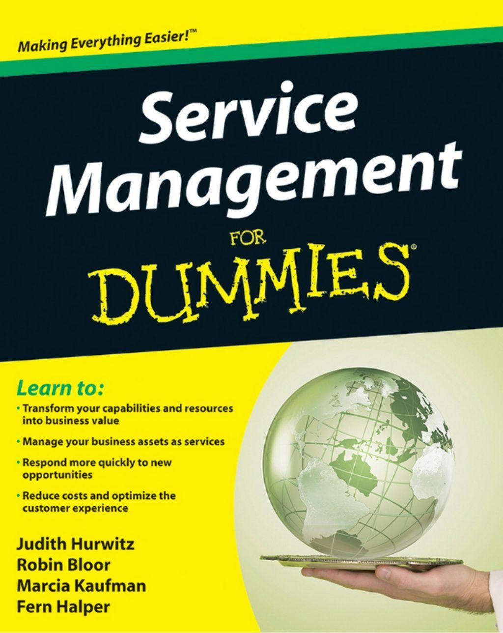 Service Management for Dummies by Larry Zimbler via