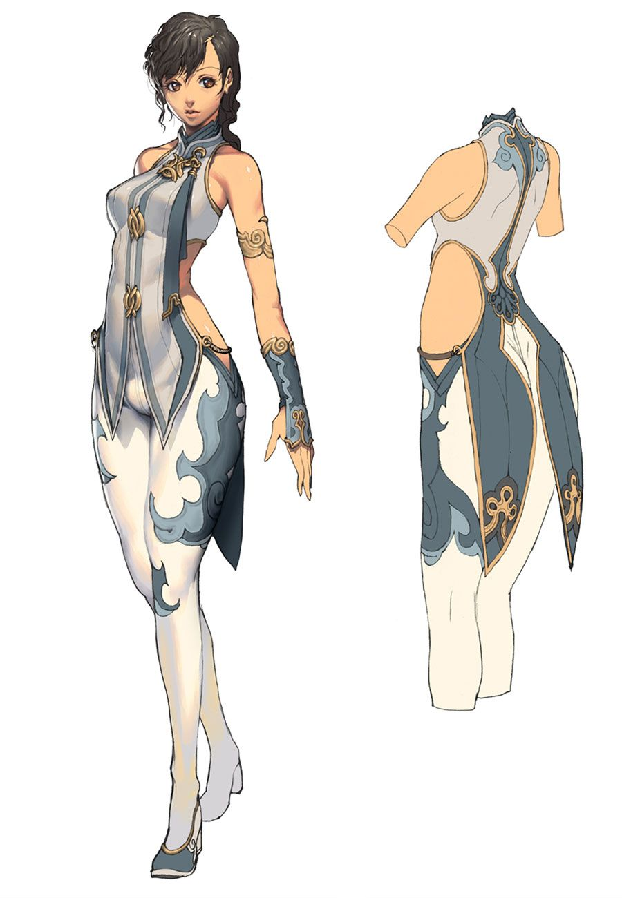 Fantasy Character Design Sheet : Female design characters art blade soul