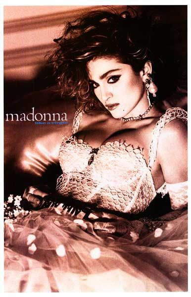 Madonna Like A Virgin Poster 11x17 Madonna Like A Virgin