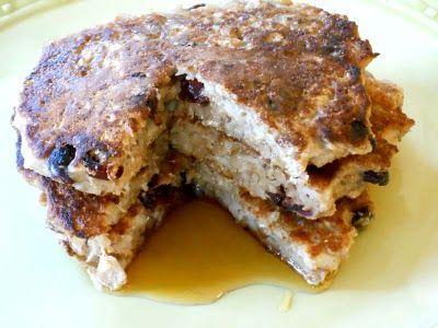 Mark Bittman oatmeal and cranberry pancakes