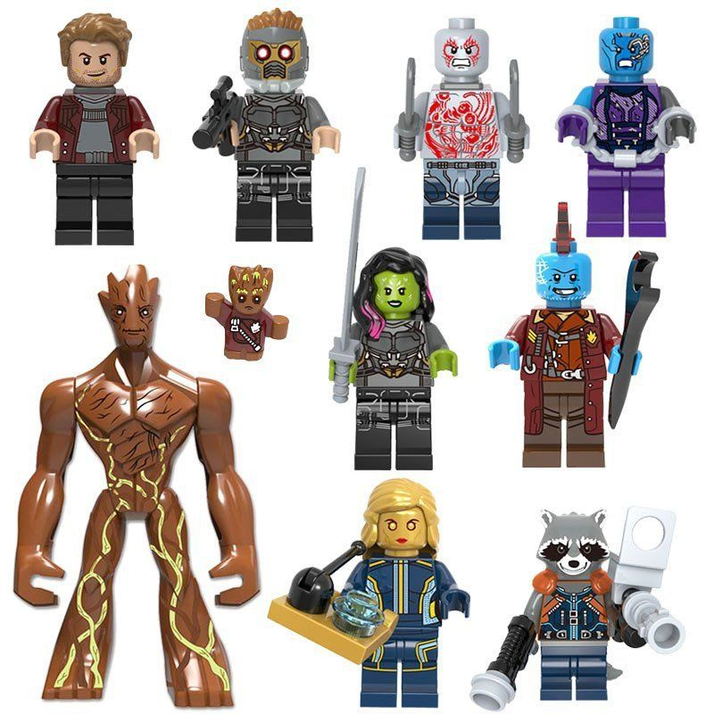 DRAX GUARDIANS OF THE GALAXY MINIFIGURE BRAND NEW SEALED