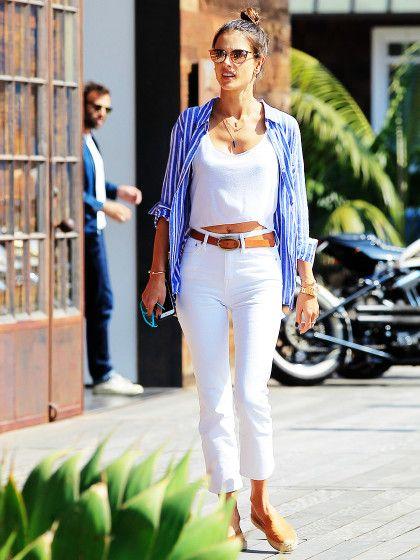 d74d6fb94c69 Weiße Jeans kombinieren  Die wichtigsten Style-Regeln   Fashion ...
