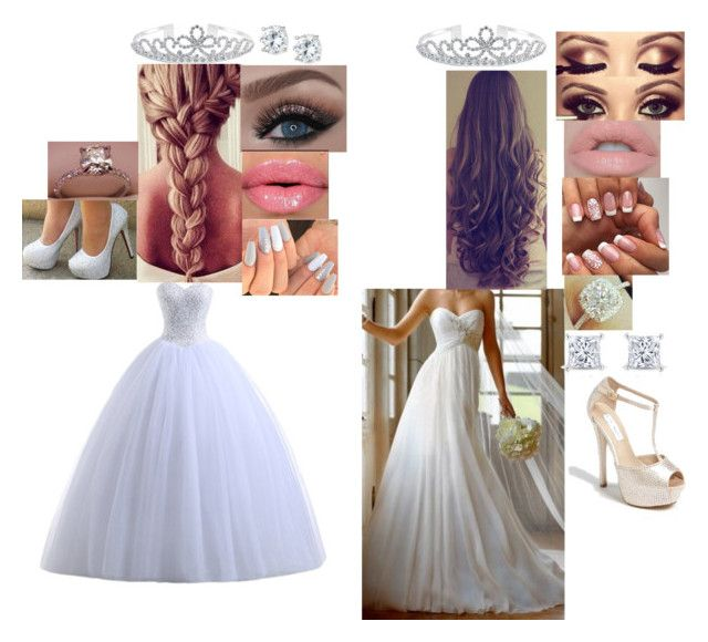 """Best friend wedding"" by amelie-golberg ❤ liked on Polyvore featuring Bling Jewelry, Castello, Steve Madden and Lisa Freede"