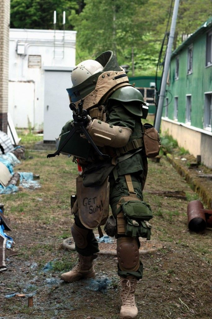 Cod Juggernaut A Different Kind Of Business Suit Cosplay Armor Zombie Apocalypse Survival Guns