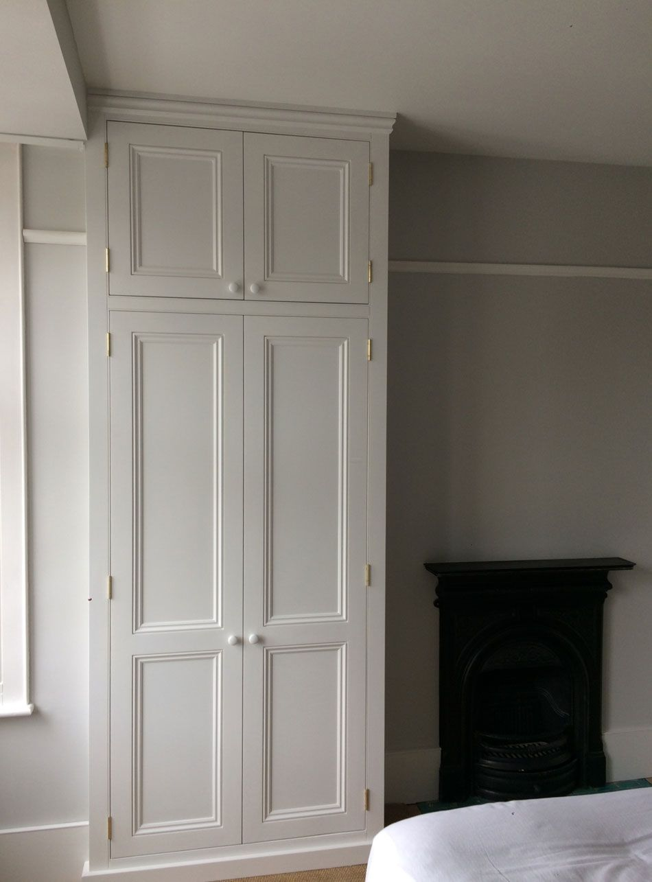 Ceiling High Alcove Wardrobes By Peter Henderson Furniture Brighton Uk Alcove Wardrobe Built In Wardrobe Ideas Alcove Bedroom Built In Wardrobe