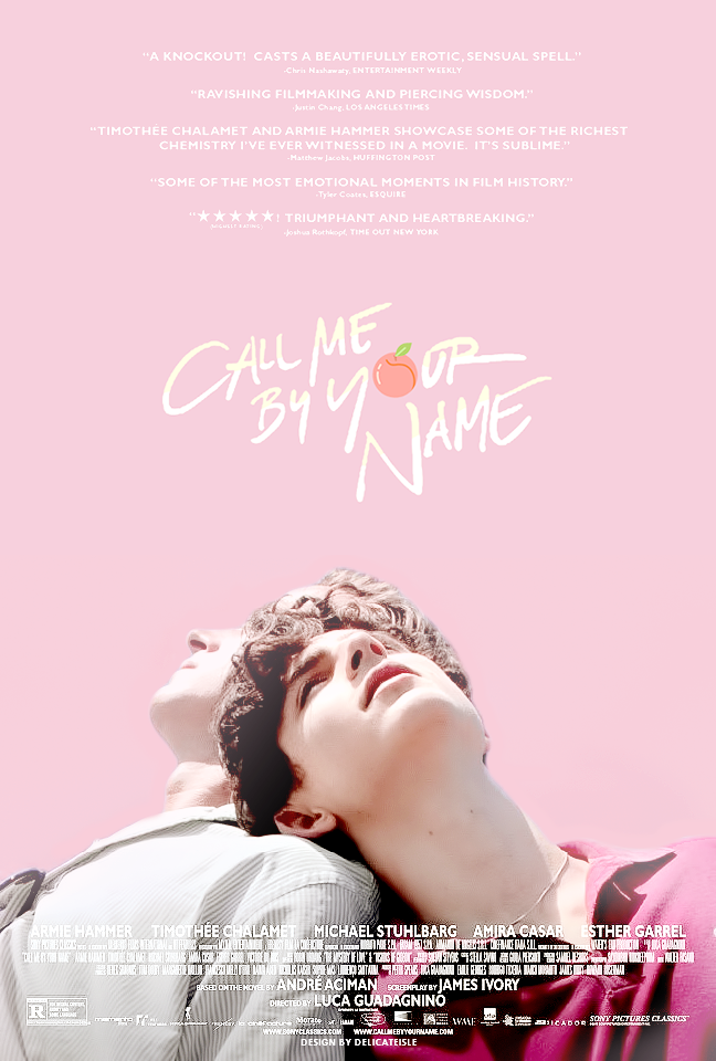 Lets Talk About Call Me By Your Name Romance Call Me Names