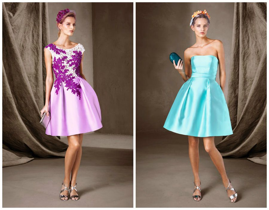 Короткие вечерние платья новый год