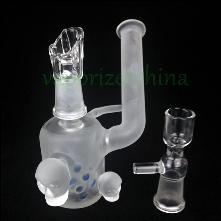 4 4 mini bongs Unique design cool looking frosted Thick