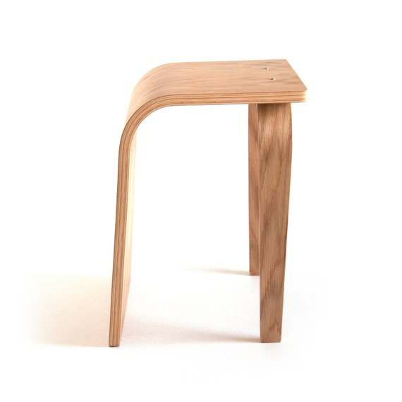 Admirable Wood Stool Modern Stool Small Stool Handcrafted Bent Camellatalisay Diy Chair Ideas Camellatalisaycom