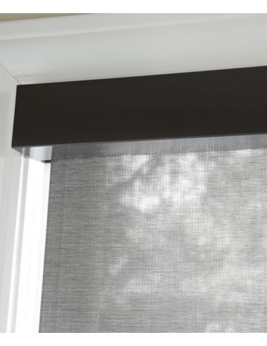 Roller Shade With Square Cassette Roller Shades Window Coverings Shades